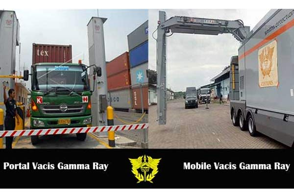 Gamma Ray Container Scanner