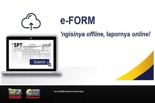 SPT Dengan e-Form