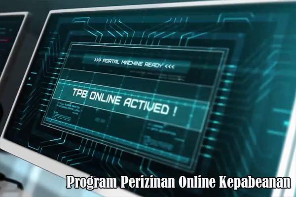 Program Perizinan Online Kepabeanan