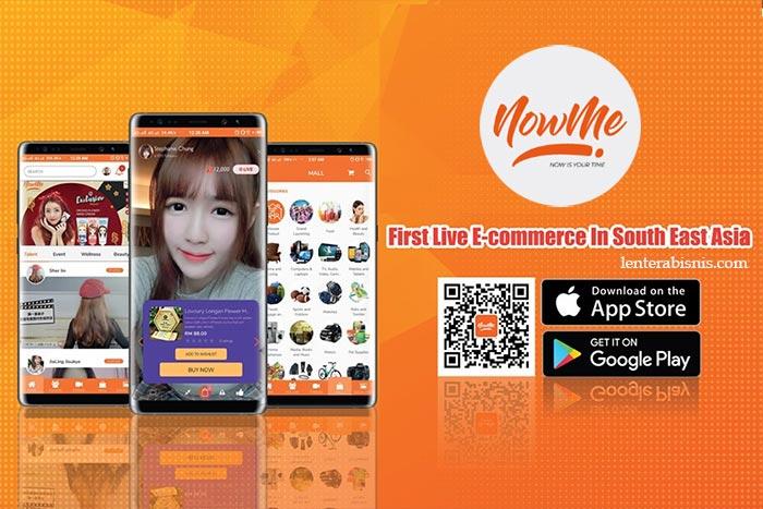 NOWME Live Commerce Hadirkan Live Shopping di Indonesia