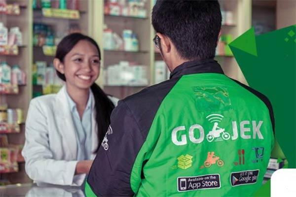 Gojek Menangani Order Obat di Aplikasi Halodoc