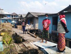 Tiga Rumah Diterjang Ombak, Walikota Bandarlampung Beri Santunan