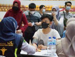 Targetkan 4.000 Orang Divaksin, Polda Lampung Gelar Vaksinasi Dosis Kedua
