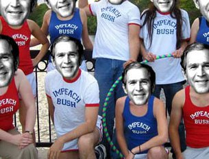 The Impeach Bush Jogging Circus