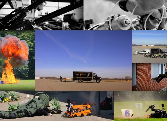 Bomb Squad collage