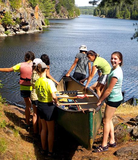Girls River Rafting