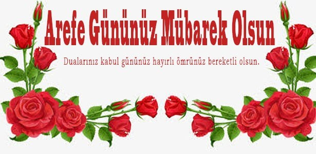 arefe günü kutlama mesajı resimli