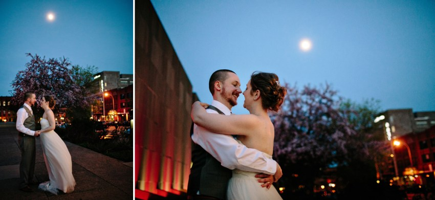 Downtown Charlottetown Wedding Portraits