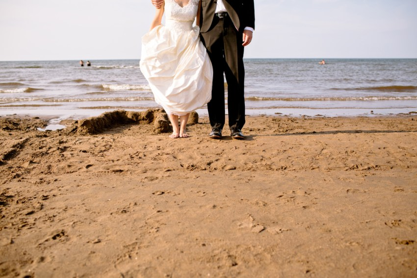 Plage Aboiteau Beach Wedding Photography Kandise Brown