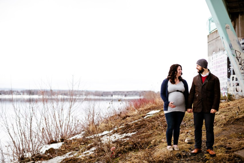 awesome fredericton maternity photography by Kandise Brown