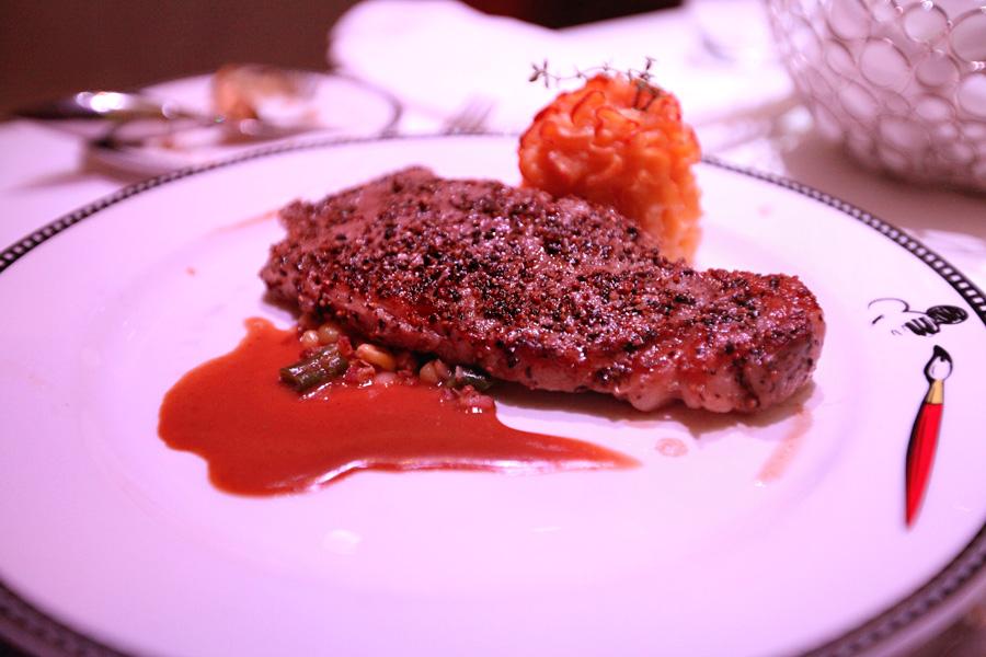 Peppercorn-strip-steak