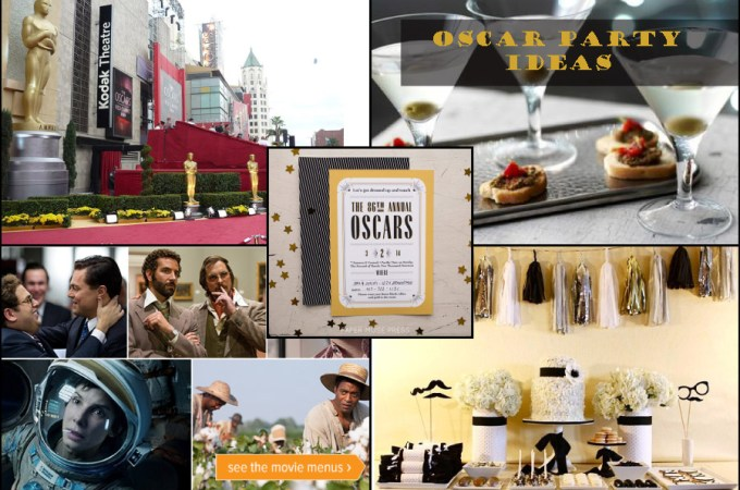 Throw an Oscar Party