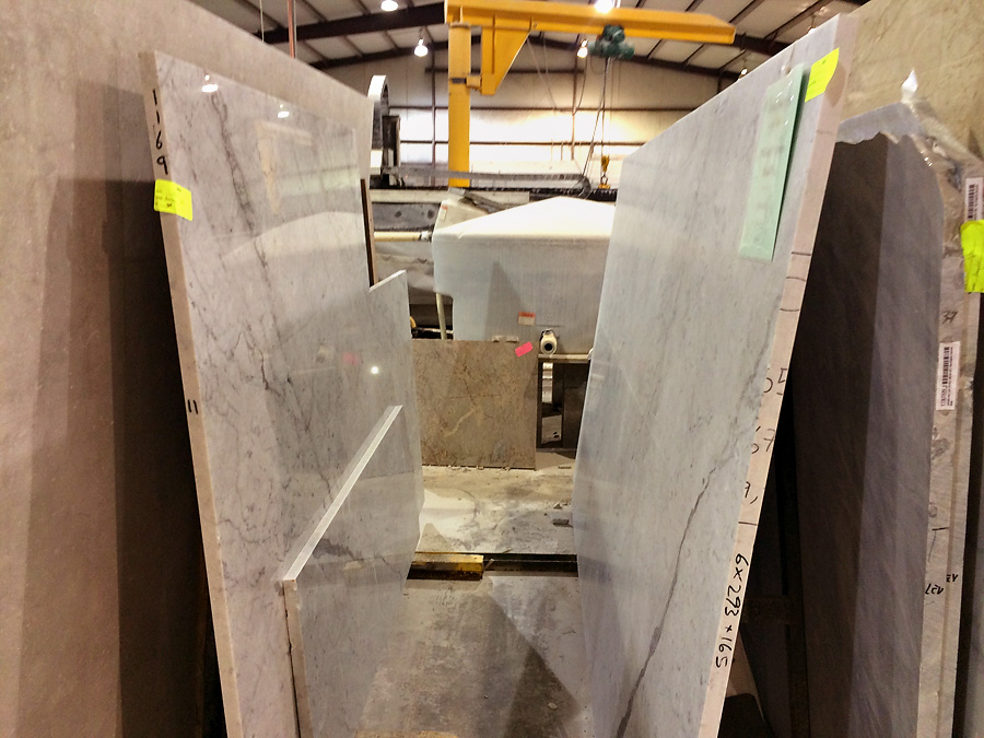 white carrara marble slabs