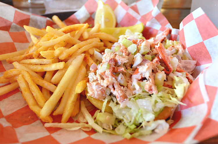 Hogfish - lobster roll