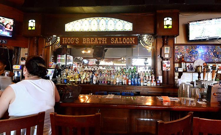 Hog's Breath Saloon bar