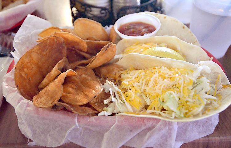 Hog's Breath Saloon - fish tacos