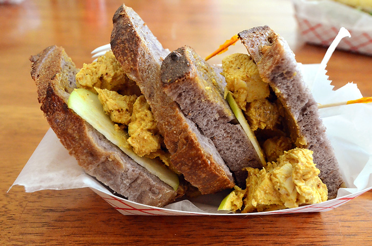 Old Town Bakery - chicken salad sandwich