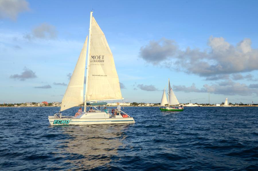 Key West Sunset Sailboat