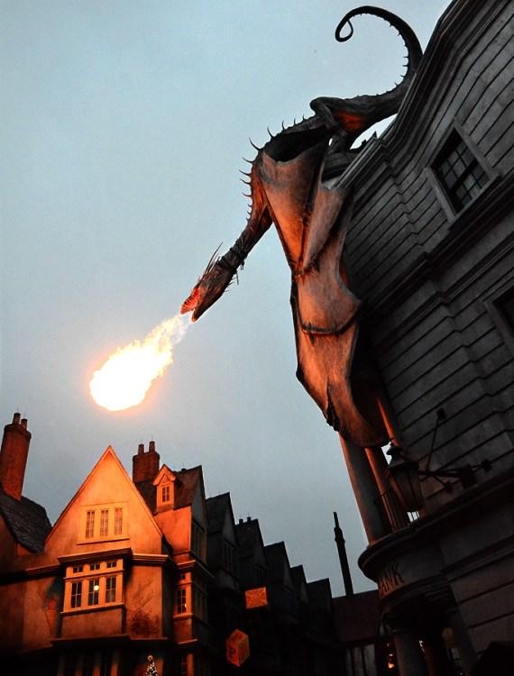 Gringott's Dragon
