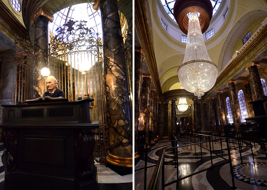 Gringott's Interior Collage