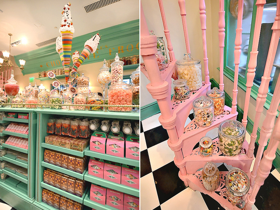Honeydukes interior