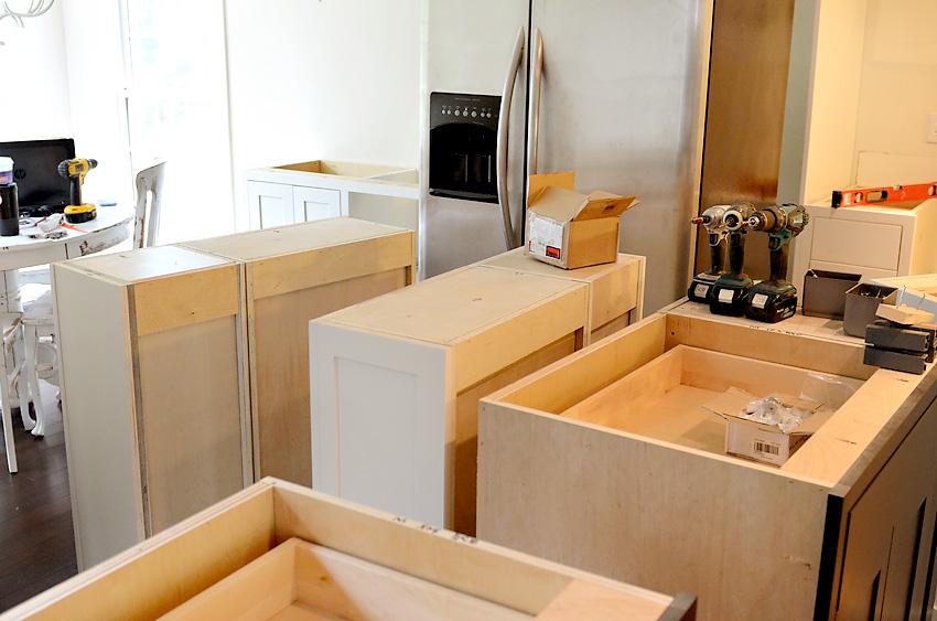 Kitchen Remodel Cabinets Delivered