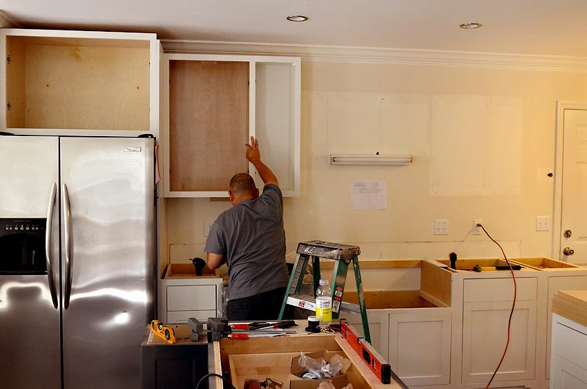Kitchen Remodel Custom Cabinets Install