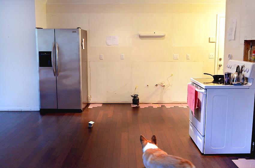 Kitchen Remodel New Bamboo Hardwood Floor