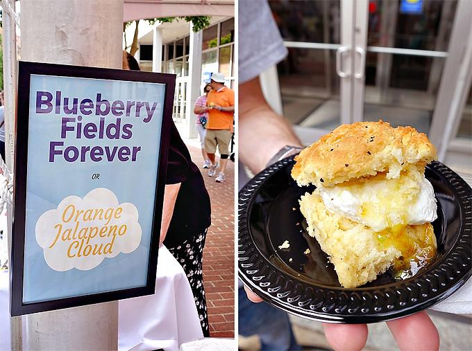 2015 International Biscuit Fest Tupelo Honey Cafe Orange Jalapeno Cloud