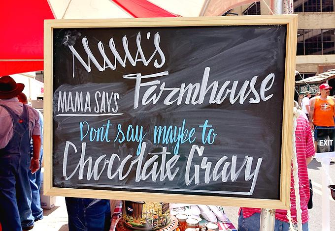 2015 international biscuit fest mamas farmhouse chocolate gravy 01