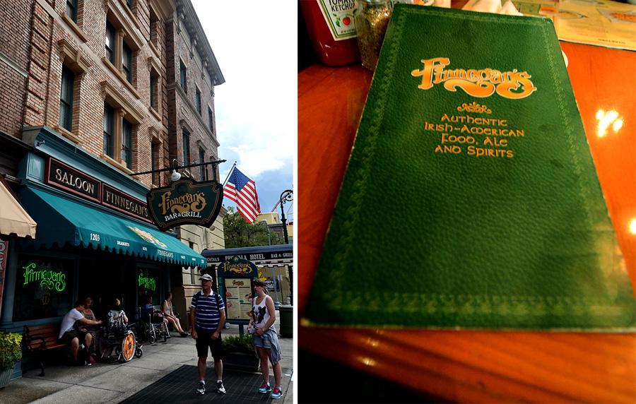 Universal Studios Finnegans Bar Grill