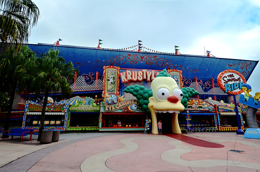 Universal Studios Krustyland the Simpsons Ride