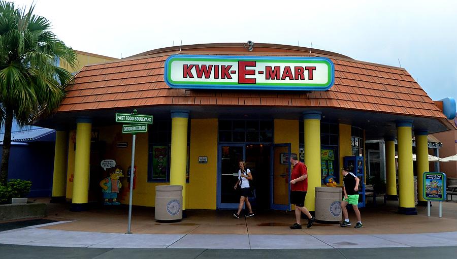Universal Studios Kwik-E-Mart
