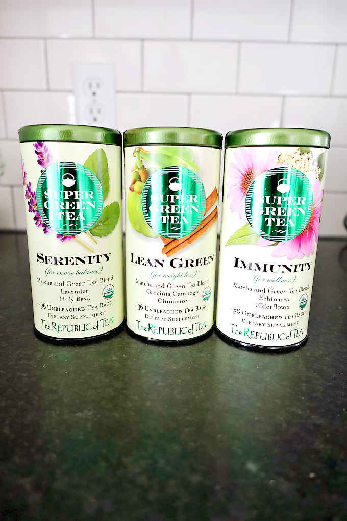 Review: Republic of Tea SuperGreen teas