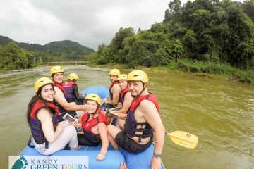Rafting and adams peak with Kandy Green Tours