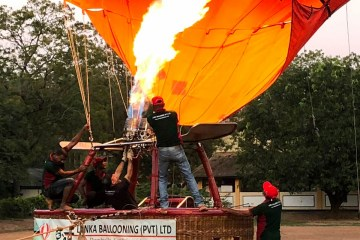 Kandy green tours - ballooning