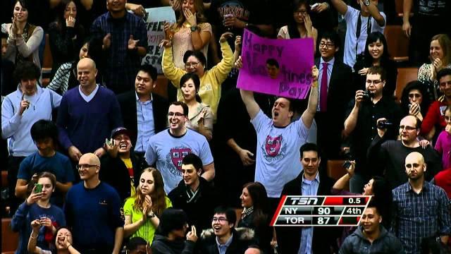 Jeremy Lin Video: Lin Game-Winning Shot Against Toronto Raptors