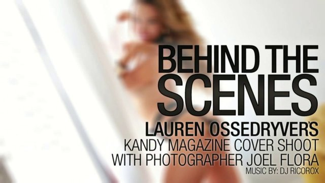 Lauren Ossedryver Kandy Magazine Cover Shoot