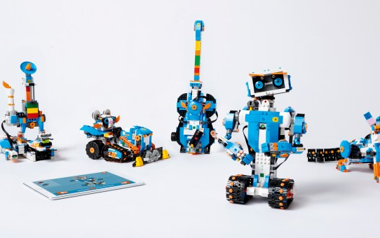 LEGO® BOOST, a supercharged building and coding set