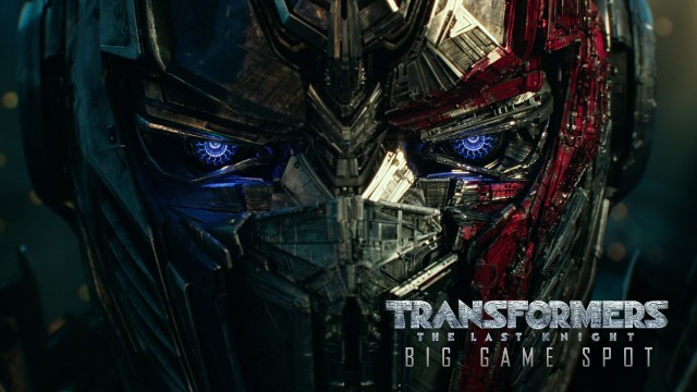 Transformers The Last Knight Big Game Spot