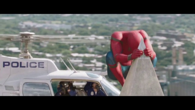 Spider Man Homecoming Clip Washington Monument