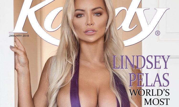 Lindsey Pelas Kandy Magazine