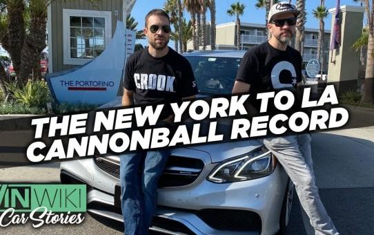 New Cannonball Run Record
