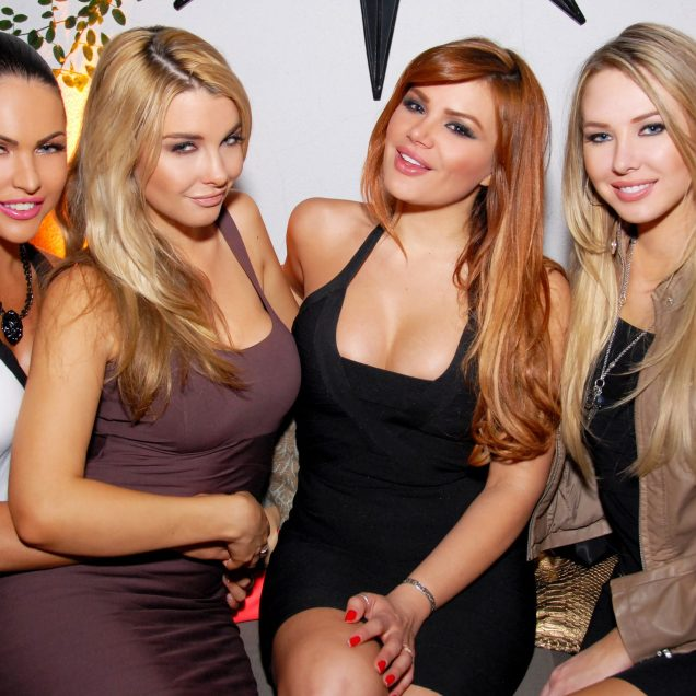 Kandy girls at cover release party