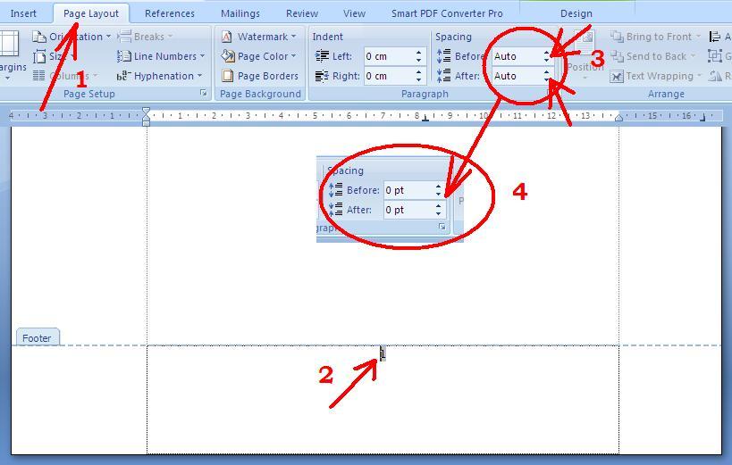 cara menomori halaman skripsi