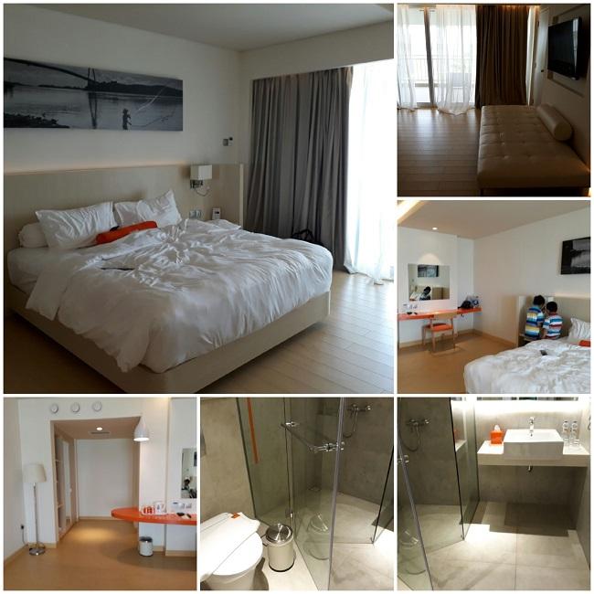 ruangan kamar di harris resort barelang