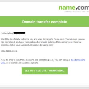 caraTransfer domain dari Godaddy ke Name