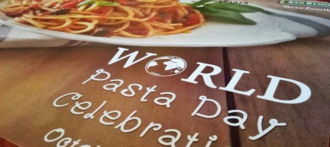 Keseruan Hari Pasta Dunia Bersama San Remo
