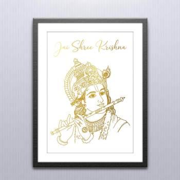 Krishna Wall Art