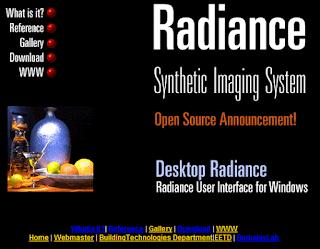 Radianceのサイト